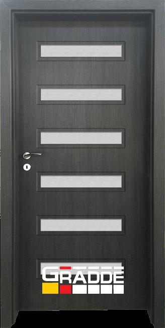 Интериорна HDF врата, модел Gradde Schwerin, Череша Сан Диего