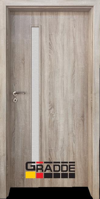 Интериорна HDF врата, модел Gradde Wartburg, Дъб Вераде