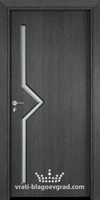 Интериорна врата Гама 201 Сив кестен