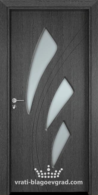 Интериорна врата Гама 202 Сив кестен
