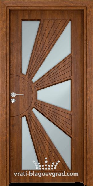 Интериорна врата Гама 204 Златен дъб