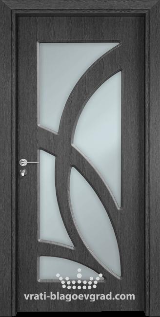 Интериорна врата Гама 208 Сив кестен