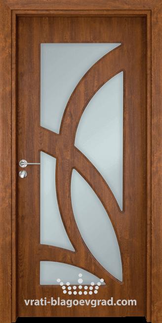 Интериорна врата Гама 208 Златен дъб
