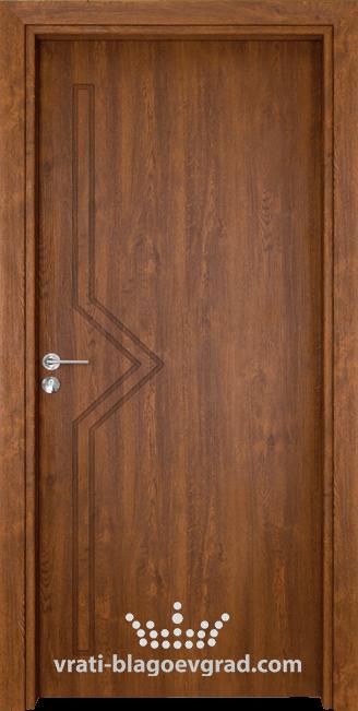 Интериорна врата Гама 201p Златен дъб