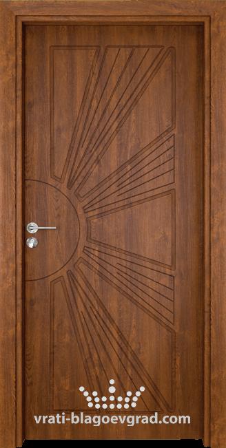 Интериорна врата Гама 204p Златен дъб