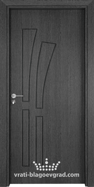 Интериорна врата Гама 205p Сив кестен