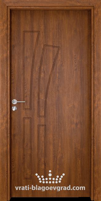 Интериорна врата Гама 205p Златен дъб