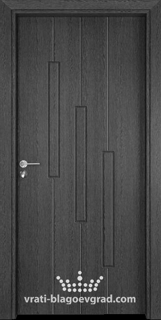 Интериорна врата Гама 206p Сив кестен