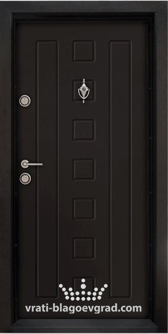 Блиндирана входна врата, модел Т712 Африка